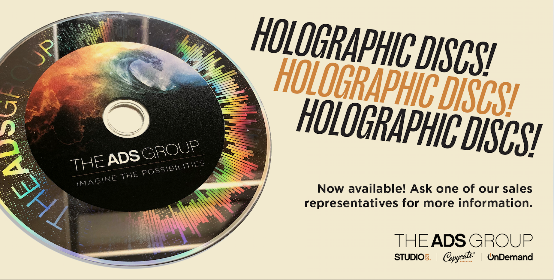 Holograhic CD from The ADS Group